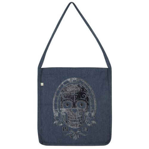 Twisted Envy Gothic Skull Tote Bag