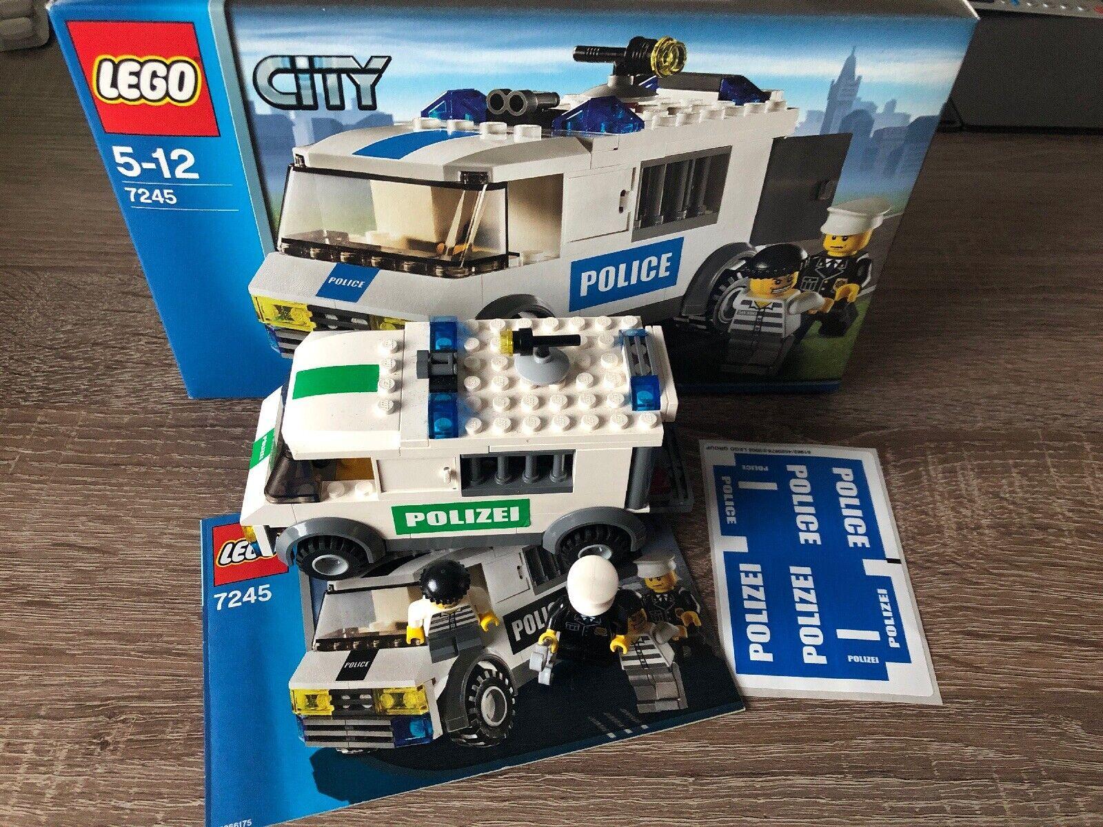 LEGO City, LEGO Polizei, LEGO Gefangenen Transporter (LEGO 7245)