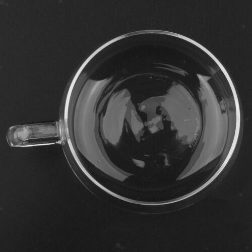 High borosilicate glass cup Double-layer heat proof Crystal coffee tea Mugs