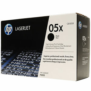 ORIGINALE TONER HP CE505X BK NERO HP LaserJet P2056X P2057D P2057DN