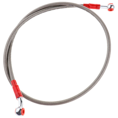 Universal Brake Line Clutch Oil Hose Line Pipe for Motorbikes Scooter Silver