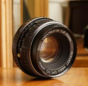 Asahi-SMC-Pentax-M-50mm-f-2-MF-Standard-Prime-Lens
