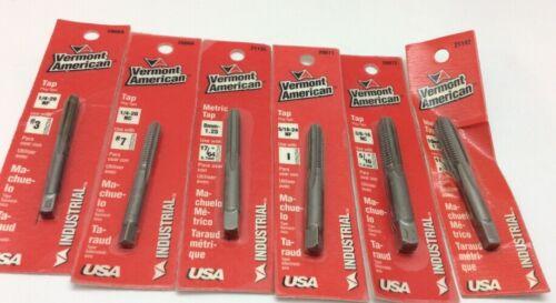Lot of 12 American Vermont Plug Type Tap Taps Metric Standard New