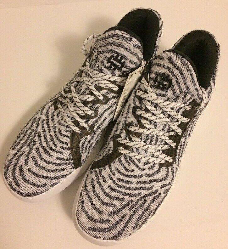 Adidas pk harden vol 1 e pk Adidas bhm ac8407 bianco nero zebra sz 13 83bd91