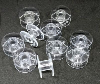 BOBBINS Plastic Singer 44S 305 342 3302 3305 3311 3321 4432 5523 10 Pack