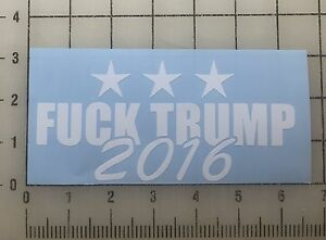 Donald-Trump-6-034-Wide-White-Vinyl-Decal-Sticker-BOGO
