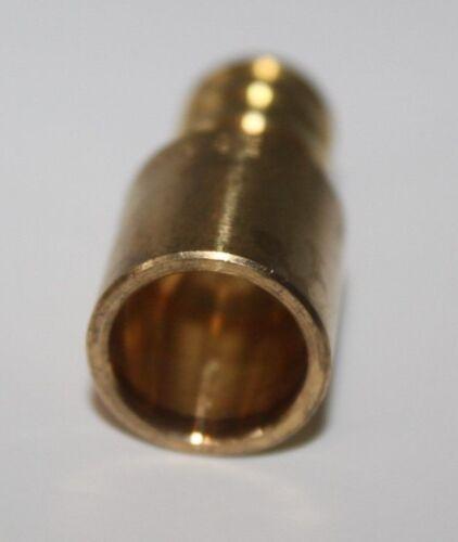 """Watts LFWP10B-0808PB 1//2/"""" PEX x 1//2/"""" Male Sweat Adapters Brass Crimp 10"""