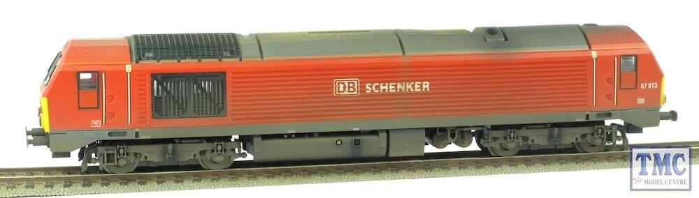 R3574 Hornby OO Gauge Class 67 DB Schenker 67013 Weatherojo by TMC