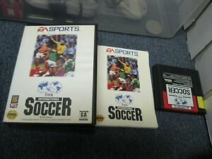 Sega Genesis FIFA International Soccer with Box Game
