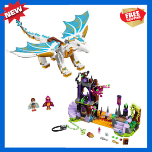 New-Elves-fairy-Long-After-Rescue-Compatible-LEGO-41179-White-Dragon-841Pcs-Toys