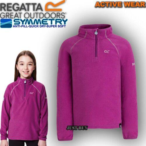 Regatta Loco Kids Lightweight Fleece Stretch Jacket School Playing Jumper Top