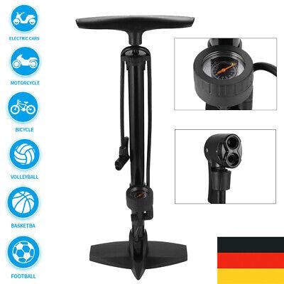 Crankbrothers Fahrrad Luft Stand Pumpe Sapphire Manometer Analog Stahl Design