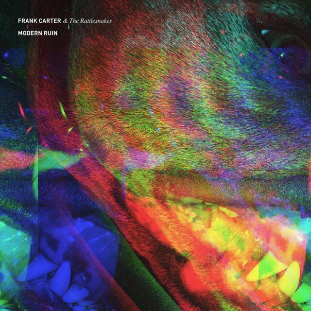 FRANK & THE RATTLESNAKES CARTER-MODERN RUIN (LIMITED BLOOD RED  VINYL LP NEW!