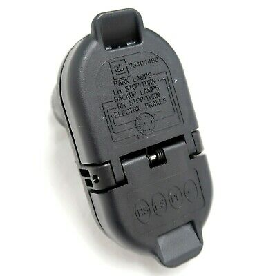 23404450 GM OEM Trailer Tow Receptacle Hitch Plug NEW | eBay