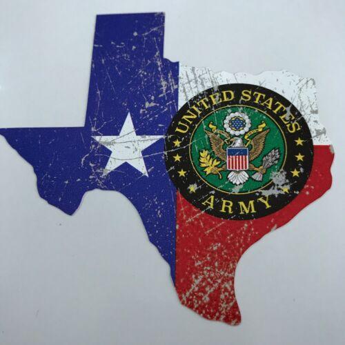 Texas US Army Vintage Sticker