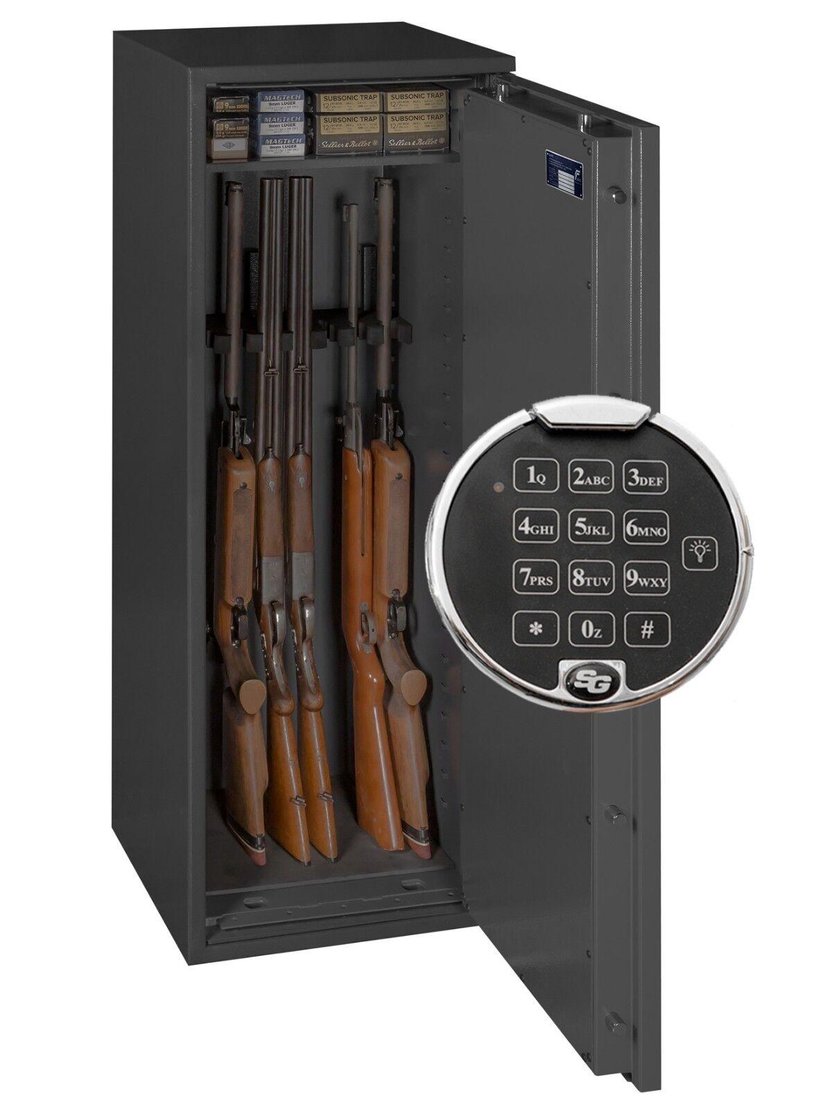Eisenbach Waffenschrank Grad 0 EN 1143-1 für 8 Langwaffen mit Zahlenschloss