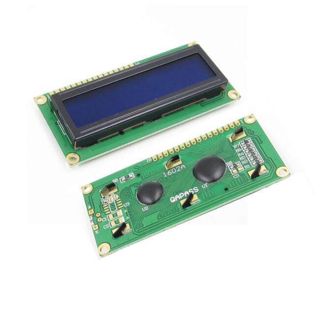 5PCS 1602 16x2 HD44780 Character LCD Display Module LCD Blue Blacklight ASS