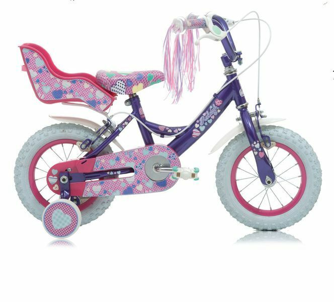 12  12 ZOLL Kinderfahrrad Mädchenfahrrad Kinder Mädchen Fahrrad Rad Fahrrad Raleigh
