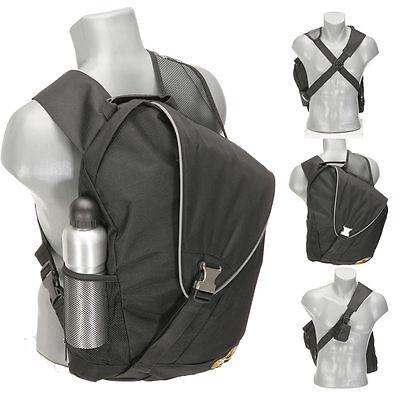 Bodybag BESTWAY X STRIPE A 4 Sportrucksack Rucksack Eingurt Xbag Bag SCHWARZ