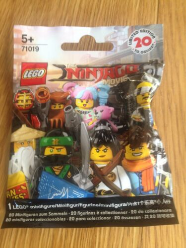LEGO mini figures NINJAGO Movie Series 71019 JAY WALKER  sealed