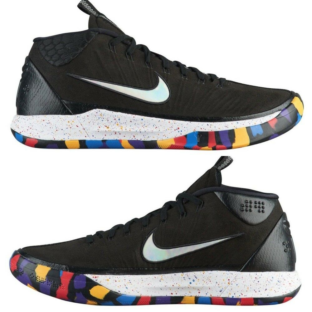 Nike kobe a.d.mm basketabll schuhe schwarze multi - farbe aj6921-001 12 größe 7 - 12 aj6921-001  6b2739