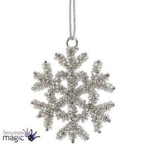 Tradicional-Copo-De-Nieve-Hielo-Colgante-Navidad-Decoracion-Arbol-Regalo-Hogar