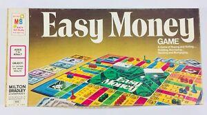 Vintage-1974-Milton-Bradley-Easy-Money-Board-Game-Sealed-Pieces-Unused-EUC
