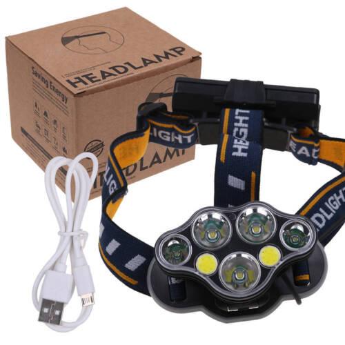90000LM 60000LM XM-L T6 LED Linterna Frontal Head Lámpara Antorch Luz Cabeza