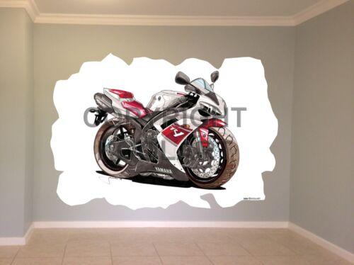 Huge Koolart Cartoon Yamaha R1 Wall Sticker Poster Mural 2404