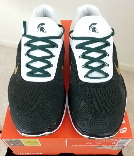 Nike Free Trainer V7 Running Shoes Michigan State Spartans