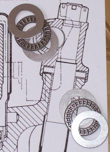 MGB and MGC king pin needle roller thrust bearings