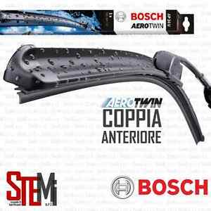 Kit 2 Spazzole tergicristallo BOSCH AEROTWIN FIAT 500 ABARTH DAL 2008 ANTERIORE