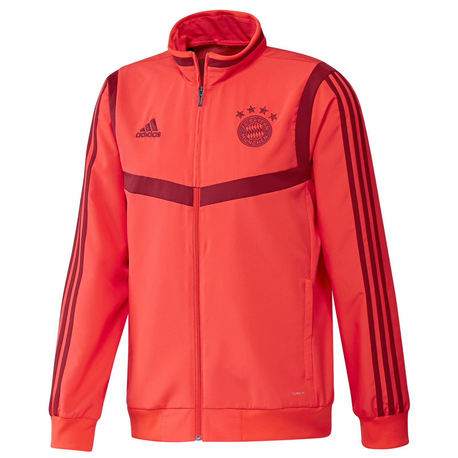 Training Fussball Match Pre Munchen Bayern Fc Herren Adidas