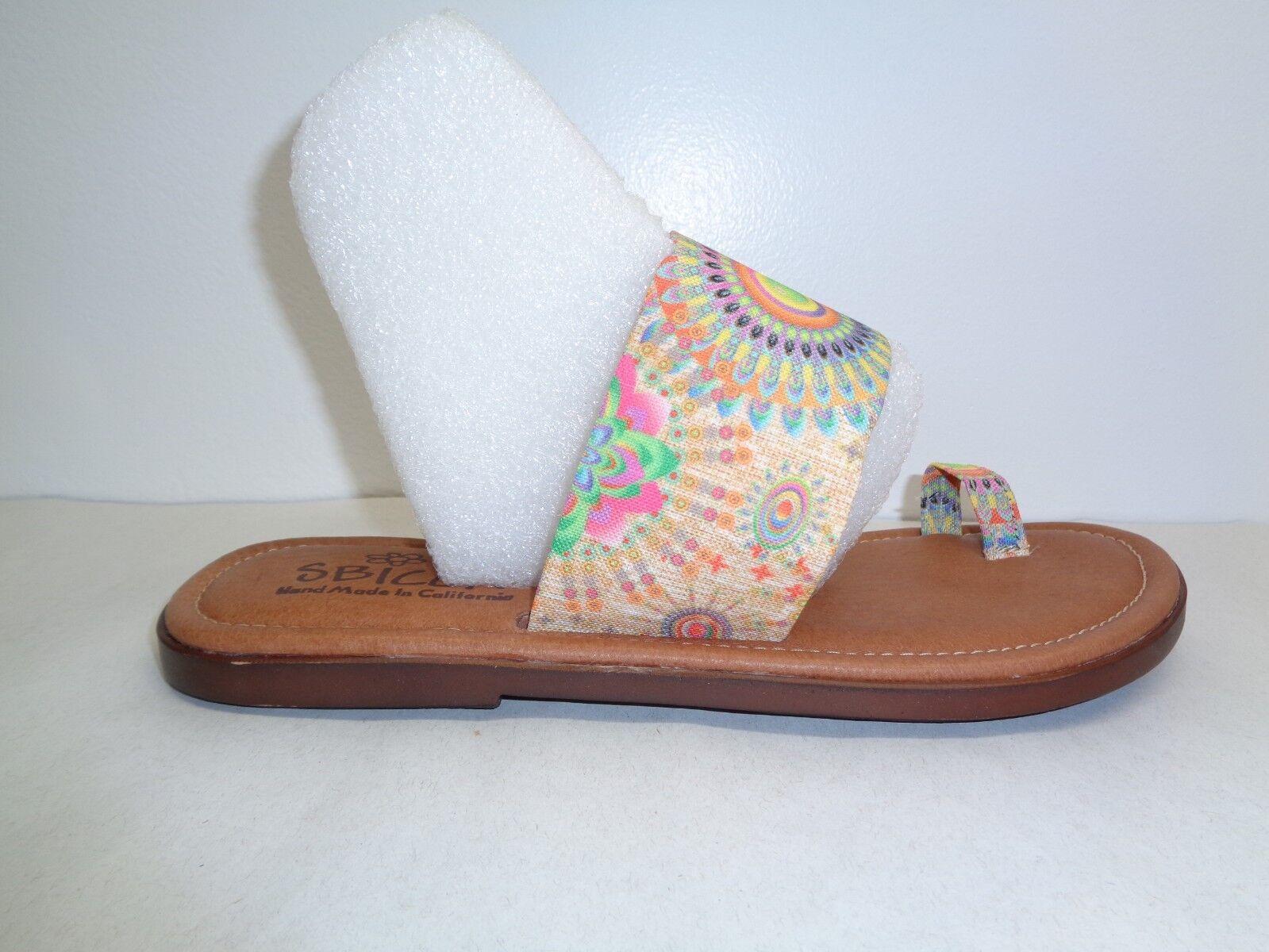 Sbicca tamaño 9 M Sunnyvale Tela resbalón en el el el Anillo Del Dedo Del Pie Sandalias nuevo Zapatos para mujer  a la venta