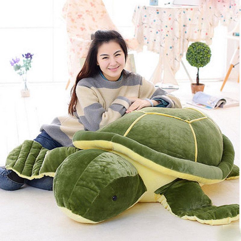 Giant Huge big Plush Tortoise Turtle Stuffed Animal Soft Toys doll Birthday gift