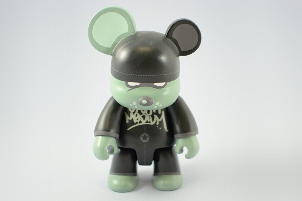 "Urban Medium 8"" MiniVandal Bear Qee Toy2R Vinyl Toy - SIGNED"