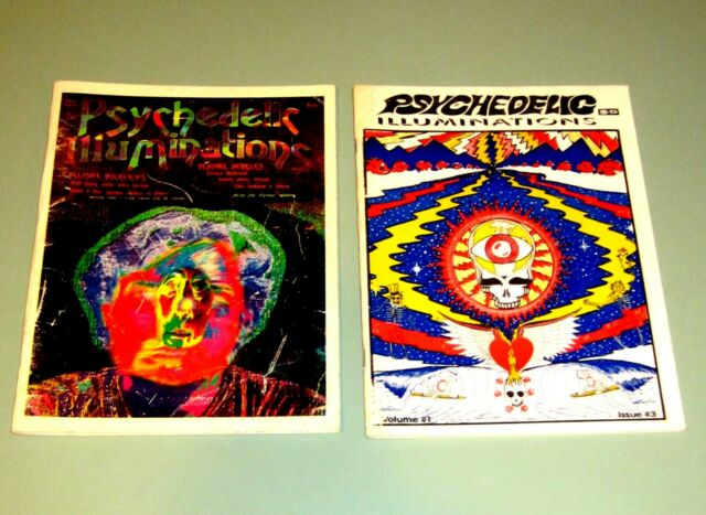 2 PSYCHEDELIC ILLUMINATIONS 3 & 4 HASHISH Terence McKenna Timothy Leary SHULGIN