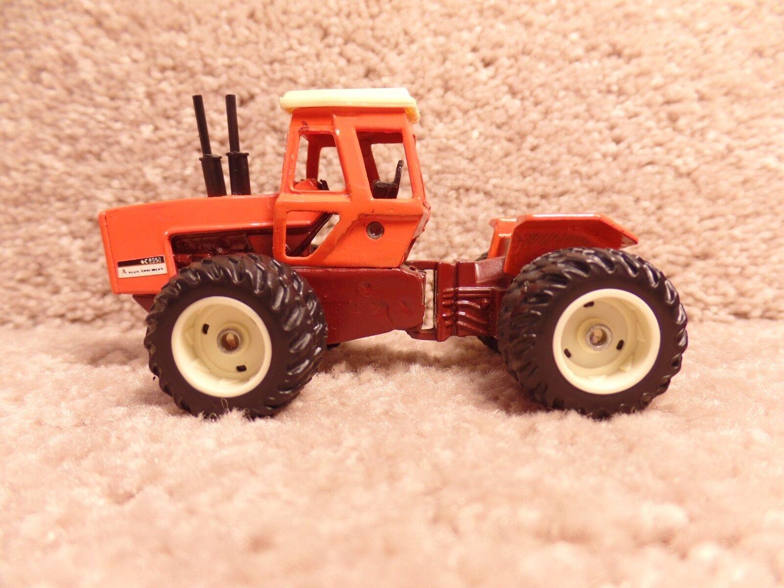 Ertl 1/64 escala Diecast Personalizado tractores Granja-Allis Chalmers 8550 Tractor & DUALS un