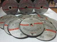 "~ 100 ~ 3"" x 1/16 thick x 3/8 AIR METAL CUT OFF WHEEL CUTTING DISC 25,000 RPM"