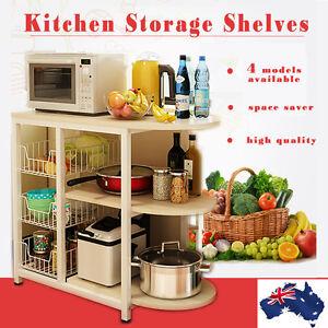 Kitchen Shelf Organizer Microwave Oven Stand Rack Vegetable Fruit Storage Holder Ebay