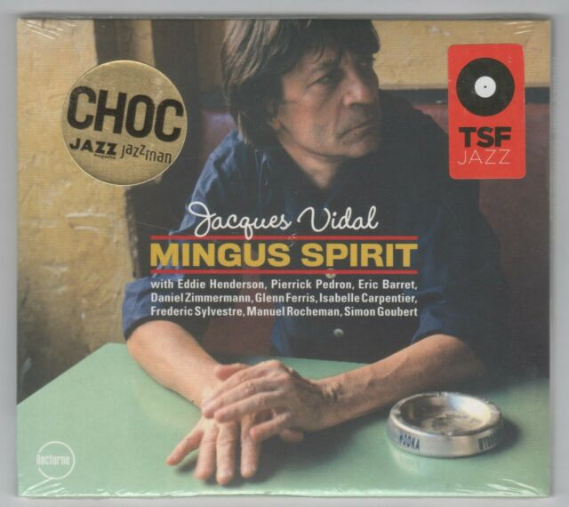 Jacques Vidal Mingus Spirit CD New