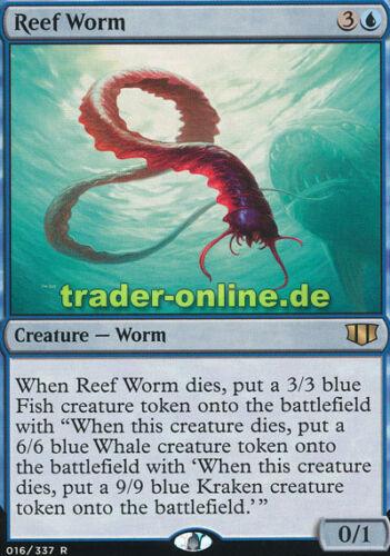 Reef Worm Riffwürmchen Commander 2014 Magic