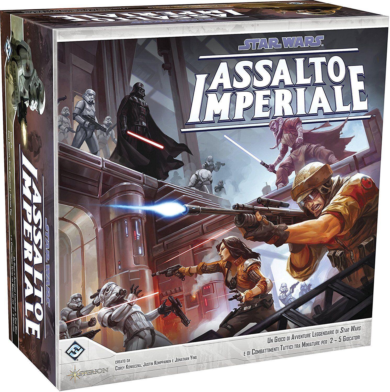STAR WARS Assalto imperiale. Gioco da tavolo versione italiana NUOVO SIGILLATO