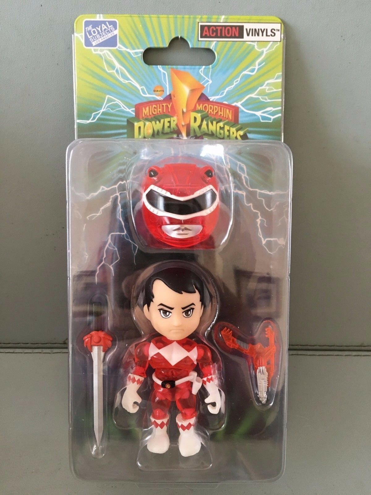 Power rangers CRYSTAL ROT ranger SDCC exclusive LOYAL SUBJECTS  Rare MISB