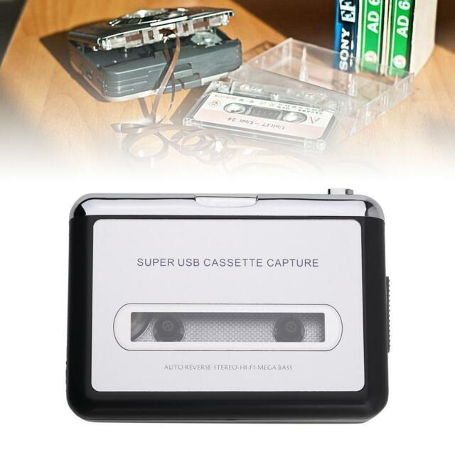 Tape to PC USB Cassette &MP3 CD Converter Capture Digital Audio Music Player  S