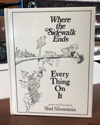 WHERE THE SIDEWALK ENDS EVERY THING ON IT by SILVERSTEIN Leather New Sealed