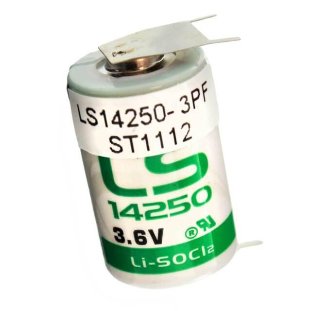 50 EVE ER14250 1//2AA 3.6V LITHIUM BATTERY ENERGY VERY ENDURE BOBBIN CELL NEW