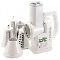 Presto 02970 Professional Saladshooter Electric Slicer/shredder, White,