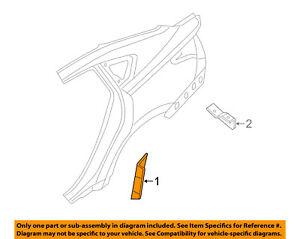 Auto Parts and Vehicles Car & Truck Exterior Mouldings & Trim 13 ...