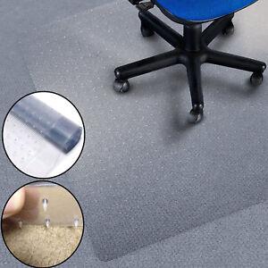 Heavy Duty Plastic Acrylic Carpet Protectors Mat Office